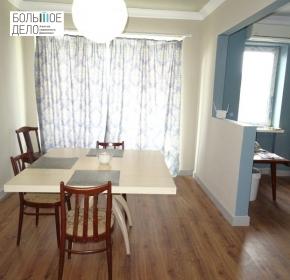4-ком. с ремонтом и мебелью