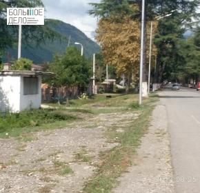 Земельный участок при въезде в Сухум